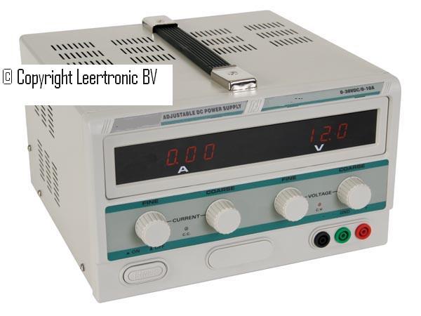 lt 3010 regelbare laboratorium voeding 0 tot 30 volt en 0